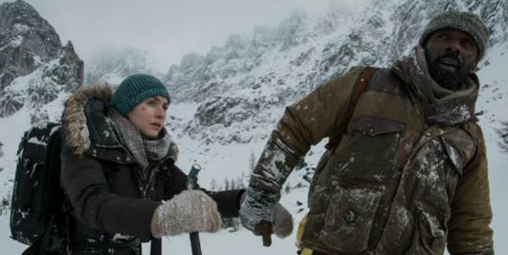 In Mountain Between Us Clip Idris Elba And Kate Winslet Don't want To Die