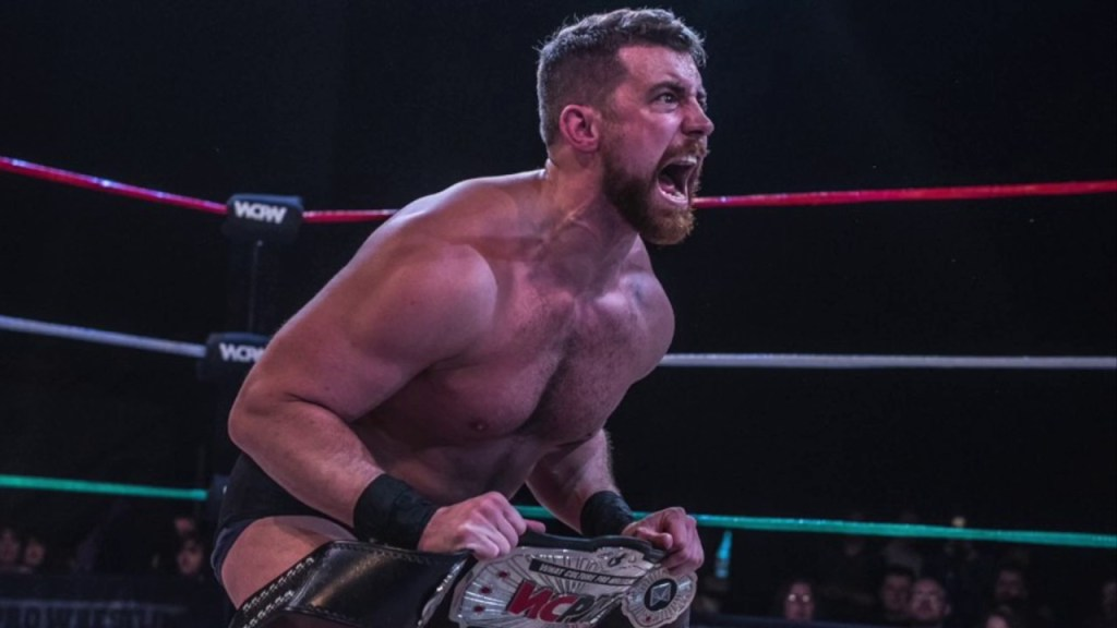 Joe Hendry: The prestige of British wrestling in 2017
