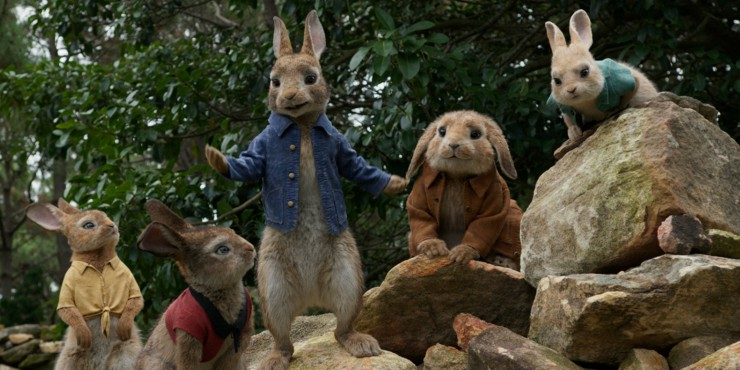 The Adventure Begins In Peter Rabbit UK Trailer Two