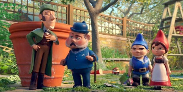 """What The Fertiliser!"" Watch Sherlock Gnomes First Trailer"