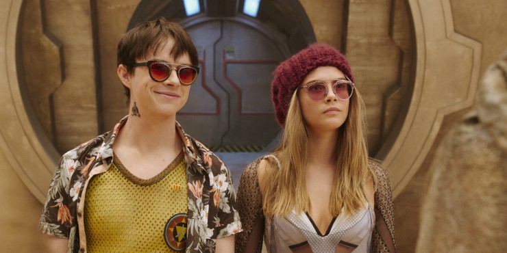 Bluray Review-Valerian and the City of a Thousand Planets