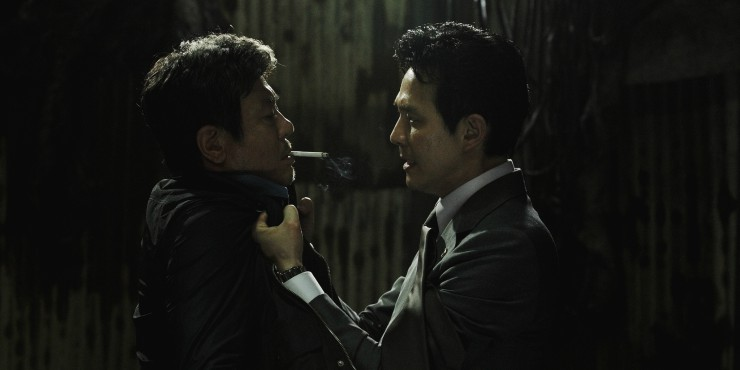 Win Slick Crime Thriller New World Starring Choi Min-Sik On Blu-ray