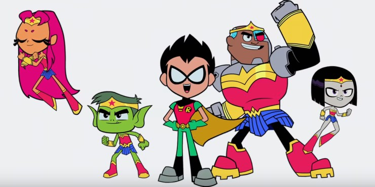 Teen Titans GO! to the Movies First Trailer Gives DC Hope