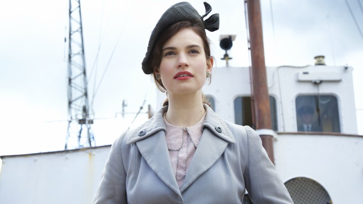 Watch The Guernsey Literary and Potato Peel Pie Society Trailer Starring Lilly James