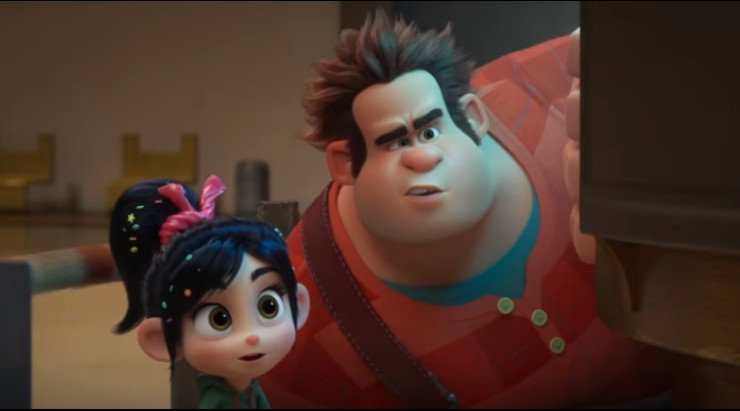 Ralph Breaks Official Film Chart As Ralph Breaks The Internet climbs to Number 1