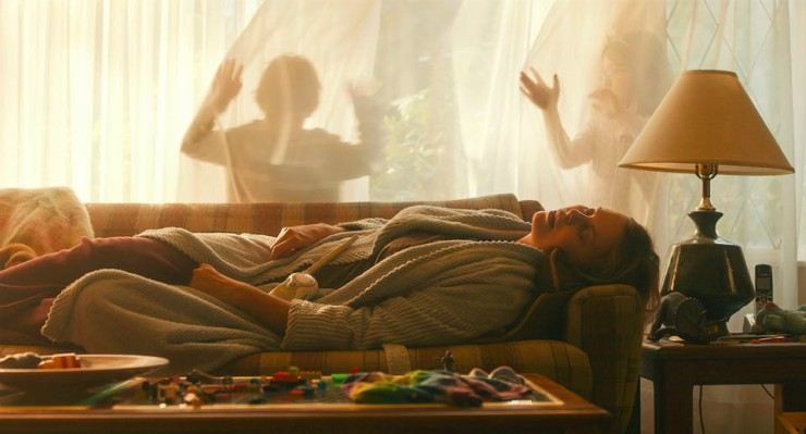 Jason Reitman's Tully Poster Charlize Theron Is 'Decorated'