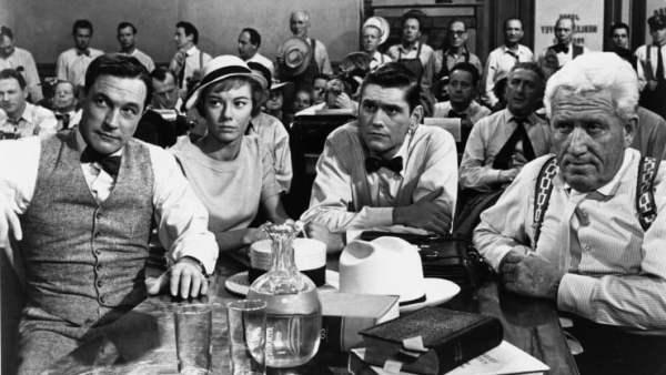 Win Inherit The Wind On Blu-Ray Starring Spencer Tracy, Gene Kelly