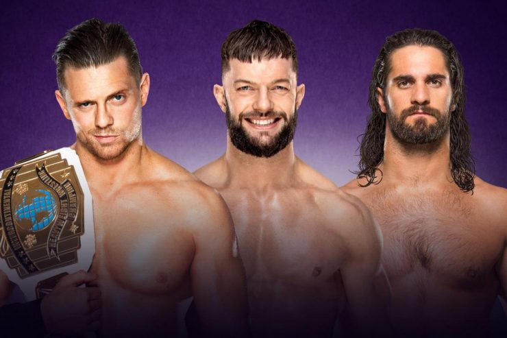 Wrestlemania 34 Preview: The Miz VS Finn Balor VS Seth Rollins: WWE Intercontinental Championship