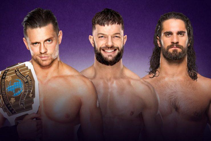 Wrestlemania 34 Preview: The Miz VS Finn Balor VS Seth Rollins: WWE Intercontinental Championship