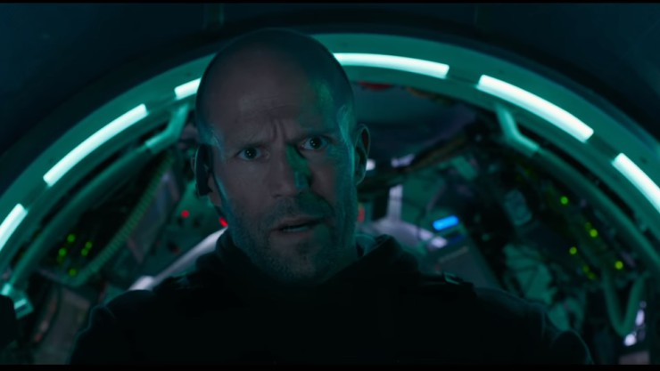 The Stath Vs.Megalodon In The Meg First Trailer