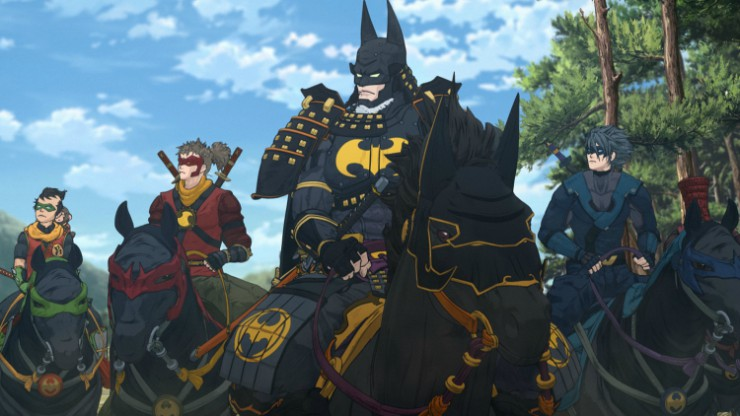 East Meets West Batman In Batman Ninja Featurette