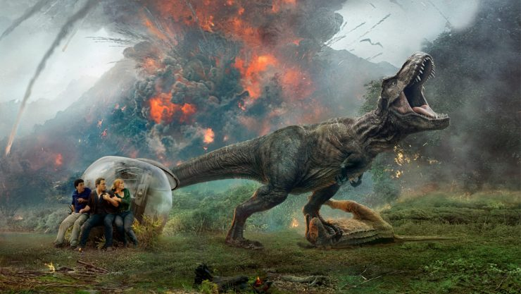 New Jurassic World: Fallen Kingdom Promo Is All About The Practical Effects