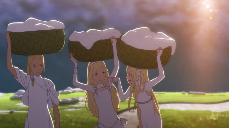 Watch Maquia: When the Promised Flower Blooms New UK Trailer