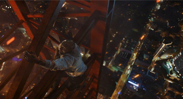 In Skyscraper New Trailer…Yippee Ki-Yay Dwayne Johnson