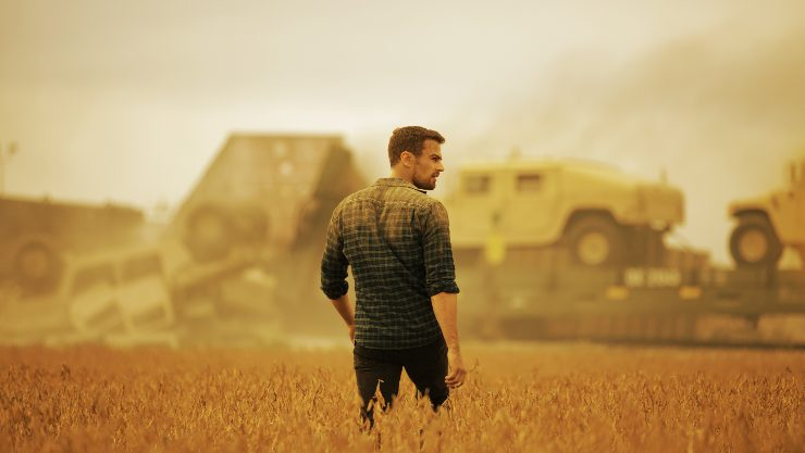 No One Survives Alone In How It Ends Trailer  Starring Theo James