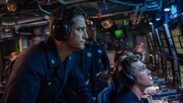 Gerard Butler Attempts To Stop World War 3 In Hunter Killer UK Trailer