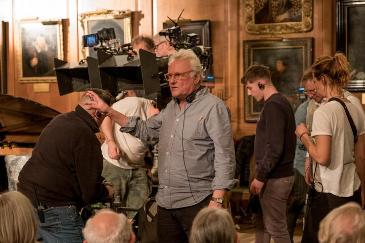 Making indie movies and moving between films and the theatre: The Children Act director, Richard Eyre