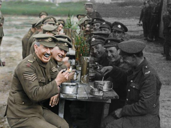 Watch The Trailer For Peter Jackson's  They Shall Not Grow Old