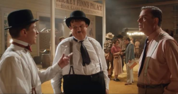 Things Go 'Way Out West' In Stan & Ollie Clip And Poster