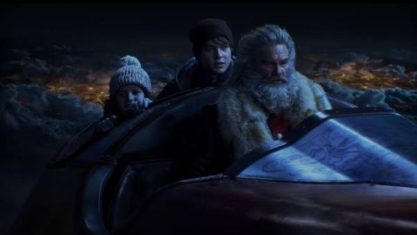 Ho! Ho! Ho! Kurt Russell Is Santa In The Christmas Chronicles Trailer