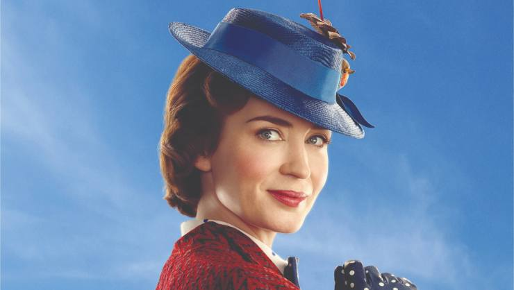A Trio Of New Posters For Mary Poppins Returns