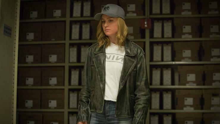 New Captain Marvel Second Trailer The War Goes Interstellar