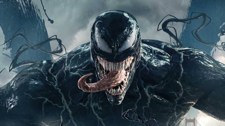 Venom takes over at Number 1 on the Official Film Chart (Oh Yes I do!)