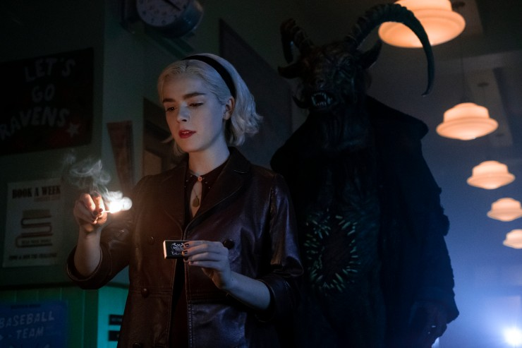 First Look  At Chilling Adventures of Sabrina Season Two