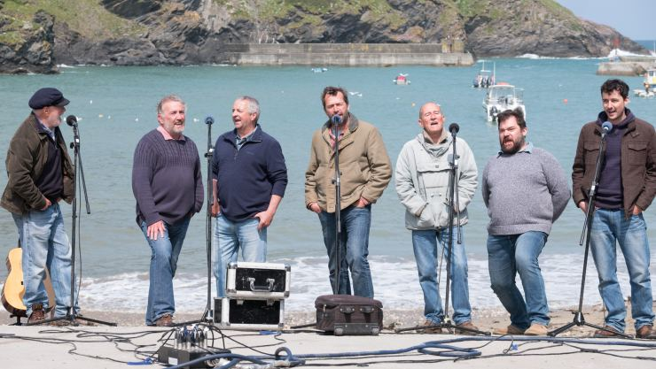 Fisherman's Friends Sails Straight to Number 1 on the Official Film Chart