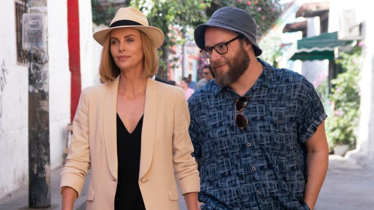 Long Shot Second Trailer Charlize Theron Is Not Dating Canadian Prime Minister