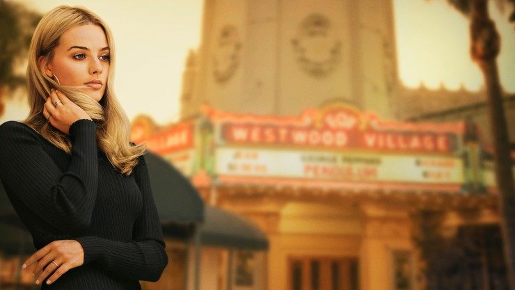 Margot Robbie's Sharon Tate Once Upon A Time In Hollywood Poster
