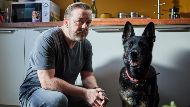 Ricky Gervais After Life Renewed For Second Season By Netflix
