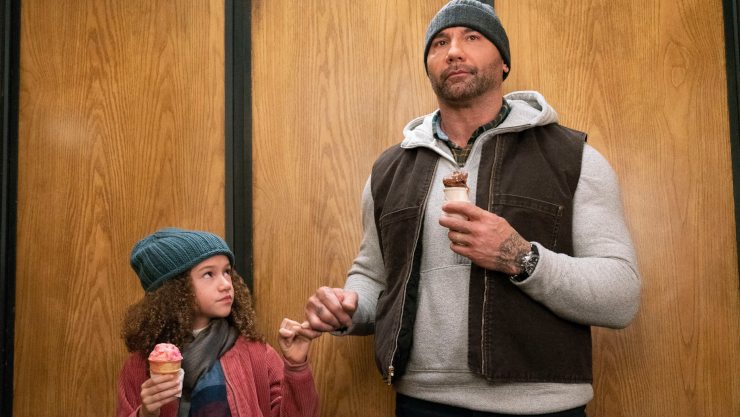 Dave Bautista Is 'Kindergarten Cop' In My Spy First Trailer
