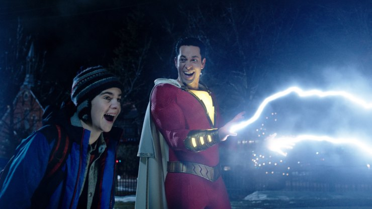The Official Film Chart Shazam! Highest Entry As Dumbo Flies To Top Spot