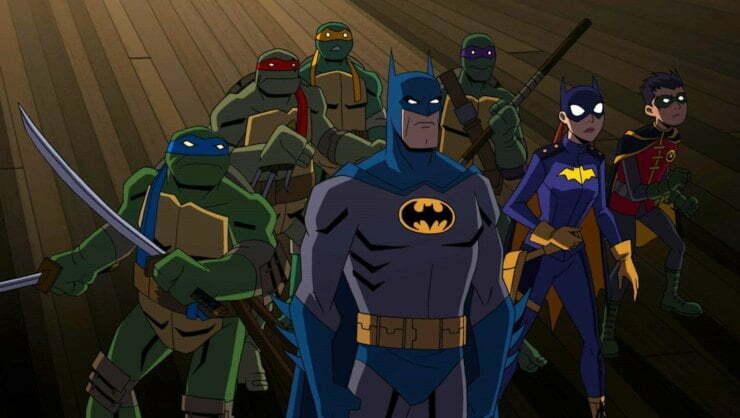 Holy Cowabunga! Batman Vs. Teenage Mutant Ninja Turtles Animation Getting Home Release!