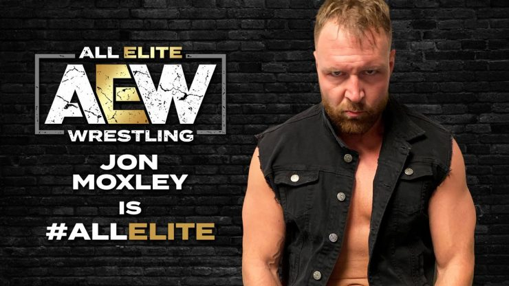 Jon Moxley Is Officially All Elite