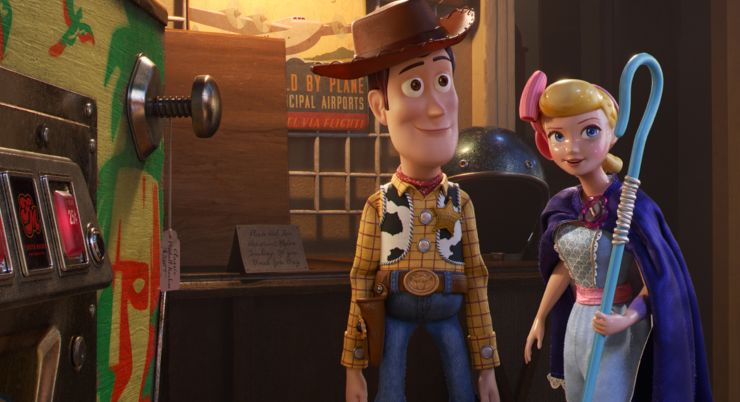 New Toy Story 4 Trailer Introduces Keanu Reeves…It's Quantum Baby!