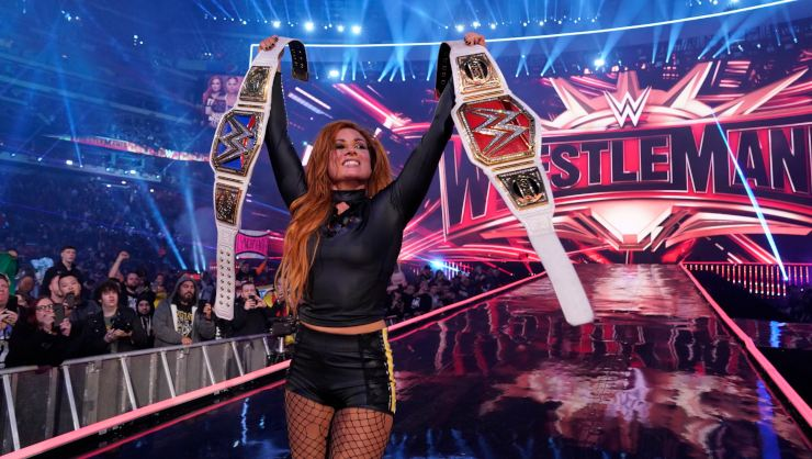 Win Wrestlemania 35 on Blu-Ray