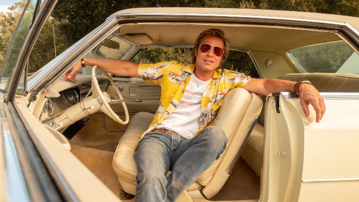 Brad Pitt Getting His P45 In Once Upon A Time In Hollywood Clip