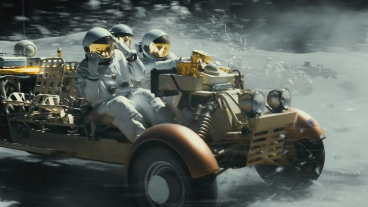 In New Ad Astra Clip Brad Pitt Races A Moonrover