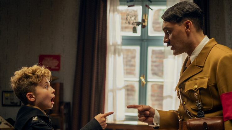 JoJo Rabbit UK Trailer Hitler Is An All Dancing Fuhrer