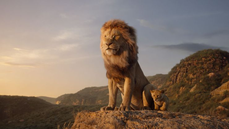 The Lion King Roars At The Top Of The Official Film Chart