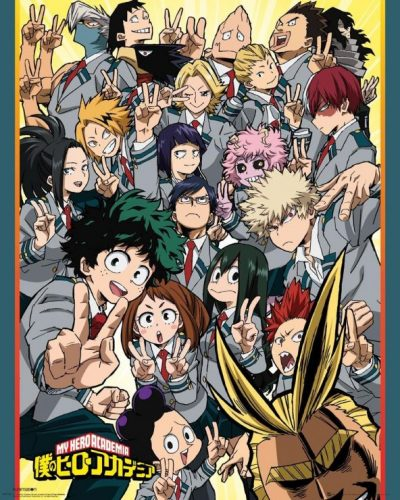 Anime Review – My Hero Academia Season 1 (2016)