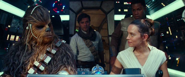 The Force Is Still Strong At Top Of The Official Film Chart