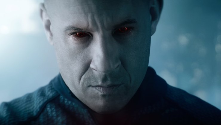 Win Bloodshot Starring Vin Diesel On Blu-Ray