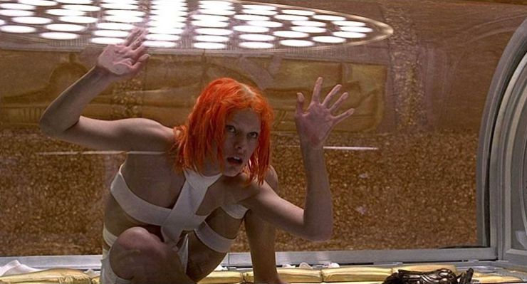 The Fifth Element Is The New Official Film Chart Number One!