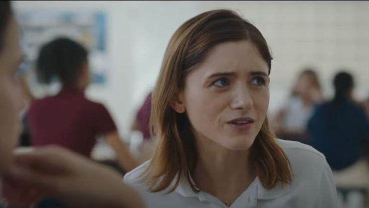 In Yes,God, Yes Second Trailer Natalia Dyer Is Full Of Guilt