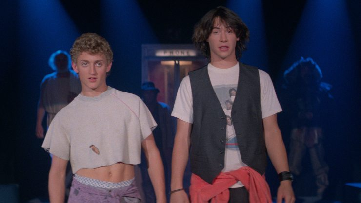 Excellent!!!  Bill & Ted's Excellent Adventure Getting A 4K Restoration