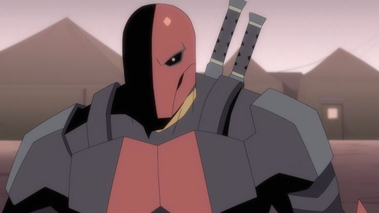Deathstroke : Knights & Dragons Animation  Getting A UK Release