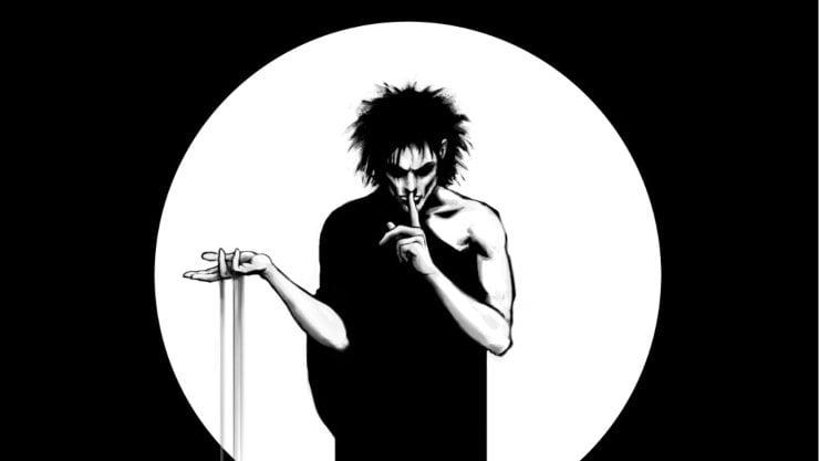 Morpheus Speaks In The Sandman Audible Trailer